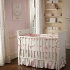 Infant Crib Bedding Pink And Taupe Damask Crib Bedding Crib Bedding Carousel