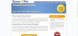 resume2hire com review 5 1 10 properresumes