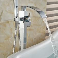 free standing bathtub faucet free standing bathtub floor mounted faucet tap set hand shower