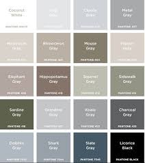 shades of gray names colour names for grey google search colours pinterest gray