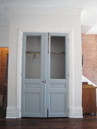 Pictures Of Bifold Closet Doors Ideas Bifold Closet Doors With Glass With Wooden Console Table