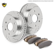 gmc acadia brake pad and rotor kit parts view online part sale