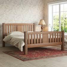 Wooden Framed Beds Wooden Beds Wayfair Co Uk