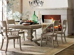 Classic Dining Room Banks Gray Classic Dining Room Pottery Barn