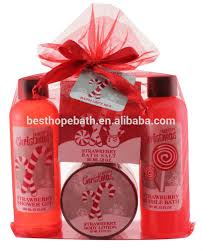 gift sets for christmas christmas organza bath gift set shop products buy christmas