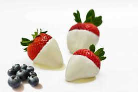 where to buy white chocolate covered strawberries white chocolate dipped strawberries for chocolate monday the