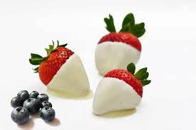 white chocolate dipped strawberries white chocolate dipped strawberries for chocolate monday the