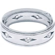 tacori wedding bands tacori men s diamond wedding band 7 0mm h l gross jewelers