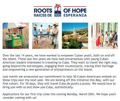 When To Travel To Cuba Roots Of Hope Rootsofhope Twitter