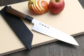 high carbon stainless steel kitchen knives yoshihiro ginsan high carbon stainless steel kiritsuke multipurpose