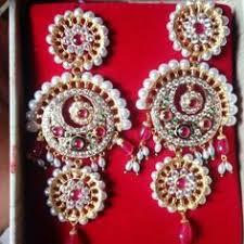 rajputi earrings rajputi gold chand earings royal rajputi jewellery