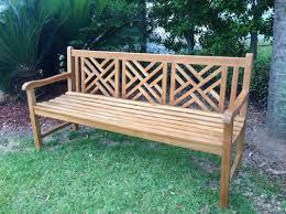 Teak Benches Chicteak Chippendale Teak Garden Bench U0026 Reviews Wayfair
