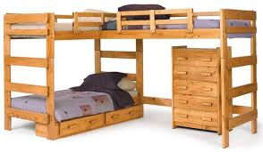Types Of Bunk Beds That Will Make You Sleep In Bliss Furnish - Three bed bunk bed