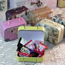 Suitcase Favors by Creative Mini Storage Box Suitcase Shape Tea Container