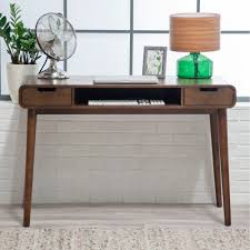 Standing Writing Desk by Furniture Writing Desk With Brown Wooden Floor And Standing Lamp