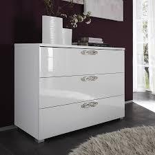 chambre a coucher blanc laque brillant commode laquee blanc maison design wiblia com