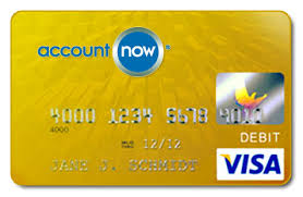 prepaid debit cards for accountnow gold visa prepaid debit card