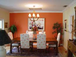 Spectacular Orange Dining Room Ideas With Small Home Decoration - Orange dining room