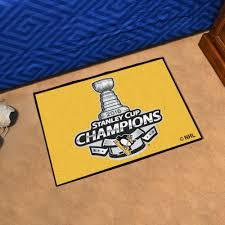 Tennessee Vols Rug Penguins Nhl 2016 Stanley Cup Champions Starter Doormat