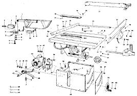 Craftsman 10 Inch Flex Drive Table Saw Parts Model 113241680