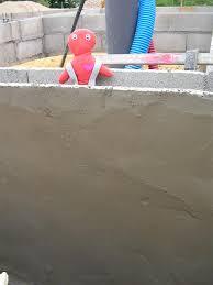 Enduit Ciment Parpaing by Enduit Hydrofuge Maison Poyaudine