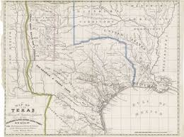 Map Of The State Of Texas Mapping Texas From Frontier To The Lone Star State U2014map Of Texas