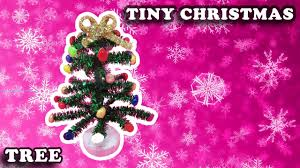 how to make a mini christmas tree with pipe cleaners crafts youtube