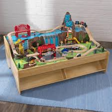 kidkraft train table compatible with thomas grand central station train set table
