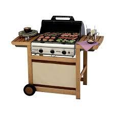 cuisiner avec barbecue a gaz cingaz barbecue à gaz adelaïde 3 woody l amazon fr jardin