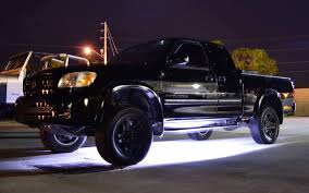 led lights for pickup trucks underglow led lighting kit multi strip remote activated rgb color