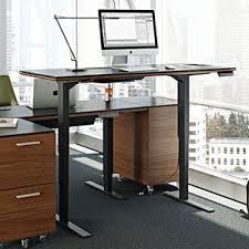 glass standing desks you u0027ll love wayfair