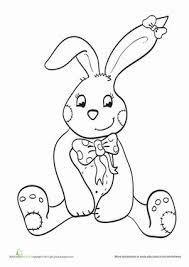 25 bunny coloring pages ideas easter