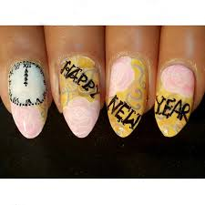 10 amazing diy new year nail art ideas usa events 2016 happy
