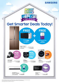 samsung surprises households with smart living deals