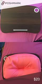 Epad Laptop Desk Brookstone E Pad Portable Desk Pink For Notebook