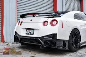 nissan 350z rear bumper forged performance llc