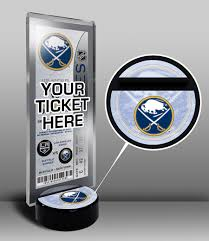 nhl ticket display stands