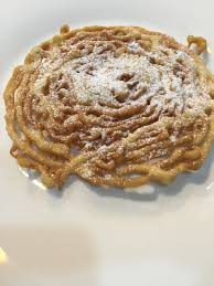 summer treats funnel cake