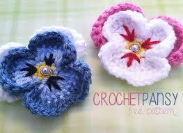 Free Pattern For Crochet Flower - 75 best crochet flowers images on pinterest crocheted flowers