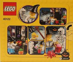 halloween legos amazon com lego trick or treat halloween seasonal set 40122