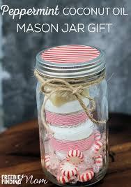 mason jar gift peppermint coconut oil mason jar gift