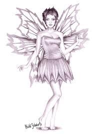 heidi schwartz classic tinkerbell character concept drawing
