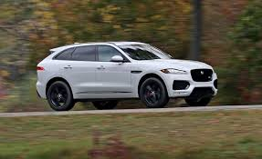 jaguar jeep inside 2017 jaguar f pace in depth model review car and driver