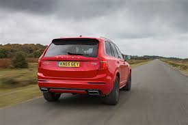 volvo suv volvo xc90 r design available in the uk sportiest volvo suv ever