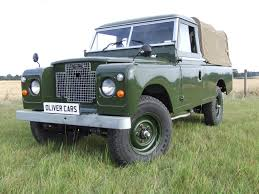 land rover pickup for sale land rover series 2 a 109 pick up oliver cars ltd