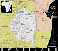 Swaziland Map Sz Swaziland Public Domain Maps By Pat The Free Open Source