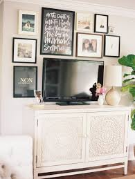 How To Decorate A Desk Best 25 Decorating Around Tv Ideas On Pinterest Tv Wall Decor