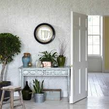 buy sanderson 216404 orange tree wallpaper chiswick grove