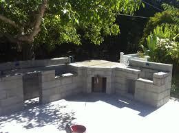 awesome cinder block outdoor fireplace design ideas classy simple