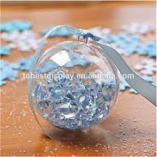 wedding decoration glass hanging clear glass